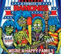 Various - We're a Happy Family: A Tribute To The Ramones (Cover Artwork)