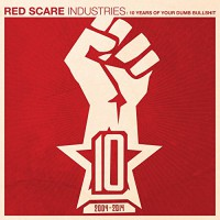 Various - Red Scare Industries: 10 Years Of Your Dumb Bullshit (Cover)