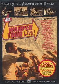 Various - Warped Tour Live DVD (Cover Artwork)