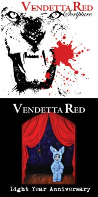 Vendetta Red - Scripture / Light Year Anniversary [2xEP] (Cover Artwork)