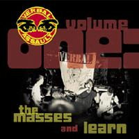 Verbal Assault - Volume One: The Masses and Learn (Cover Artwork)