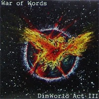 War of Words - DimWorld Act III [12-inch] (Cover Artwork)