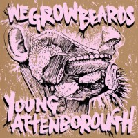 Wegrowbeards / Young Attenborough - Split (Cover Artwork)