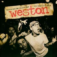 Weston - This Is My Voice and This Is My Heart: Live at Maxwell's [12 inch] (Cover Artwork)
