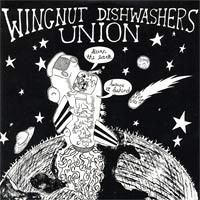 Wingnut Dishwasher's Union - Burn the Earth! Leave It Behind! (Cover Artwork)