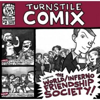 World/Inferno Friendship Society - Turnstile Comix #2 (Cover Artwork)