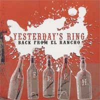 Yesterday's Ring - Back From El Rancho (Cover Artwork)