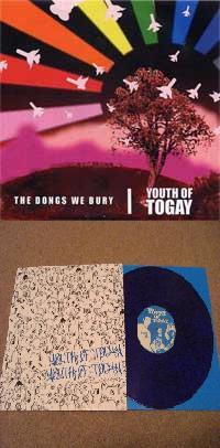 Youth of Togay - Tossed Salad Days [12 inch] / The Dongs We Bury [7 inch] (Cover Artwork)
