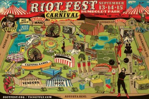 Blink-182, Fall Out Boy, Rocket from the Crypt, AFI at Riot Fest 2013