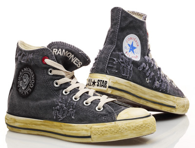 Converse Plans Ramones Chuck S For Project Red Punknews Org