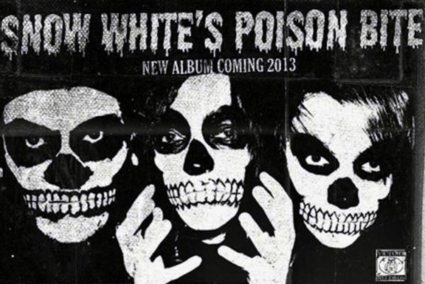 Victory signs Snow White's Poison Bite | Punknews.org