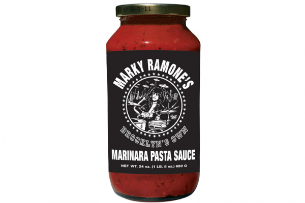 Punknews and food critics taste punk branded foods for Marky ramone marinara sauce